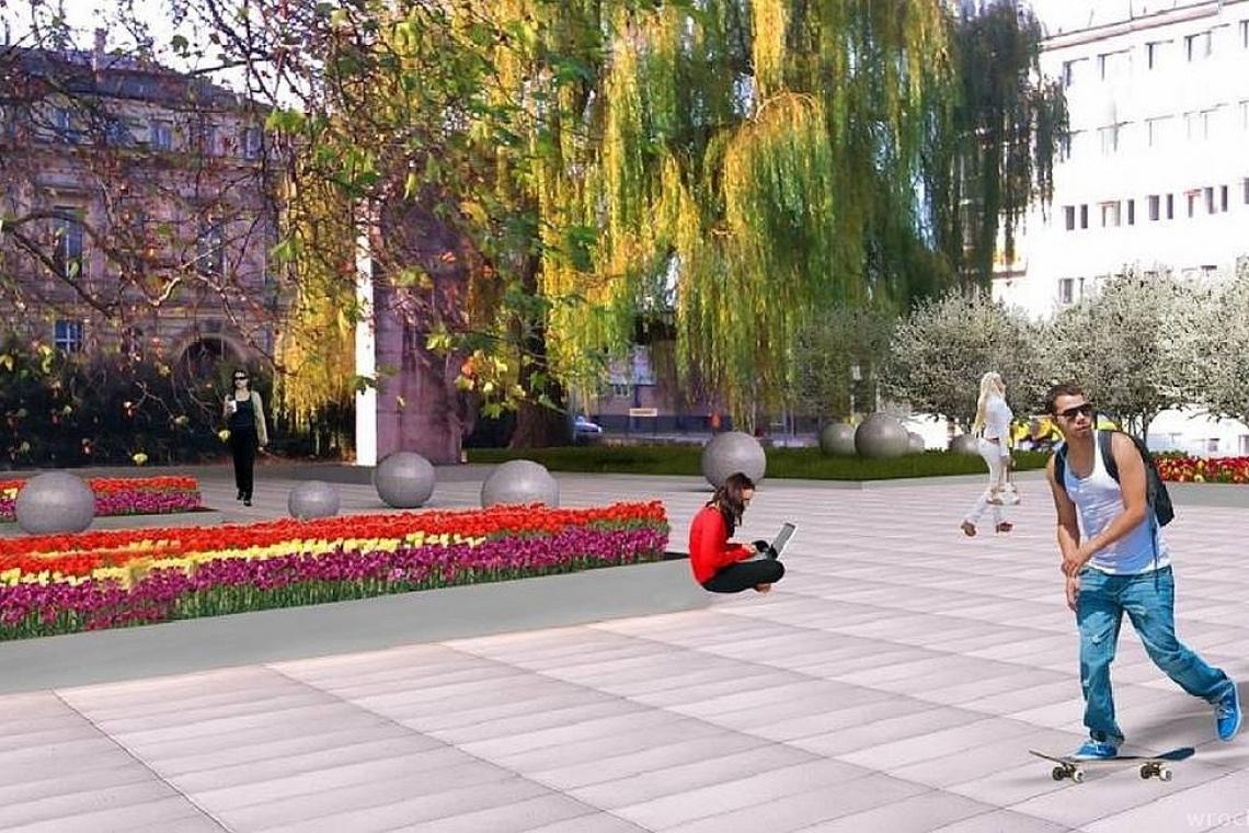 We Wrocławiu powstaje nowoczesna przestrzeń publiczna