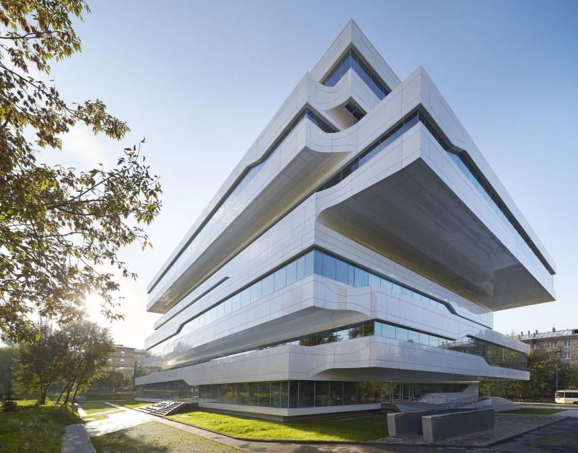 Niezwykły biurowiec w Moskwie - to najnowszy projekt Zahy Hadid