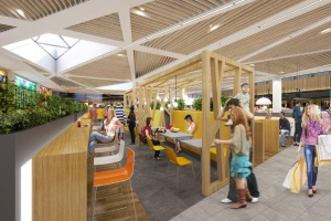 Tak będzie wyglądał nowy foodcourt w centrum Aleja Bielany