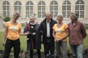 W Łazienkach Królewskich powstaje Ogród Holenderski