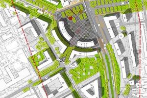 Plac Grunwaldzki według Inicjatywy Projektowej to najlepsza koncepcja