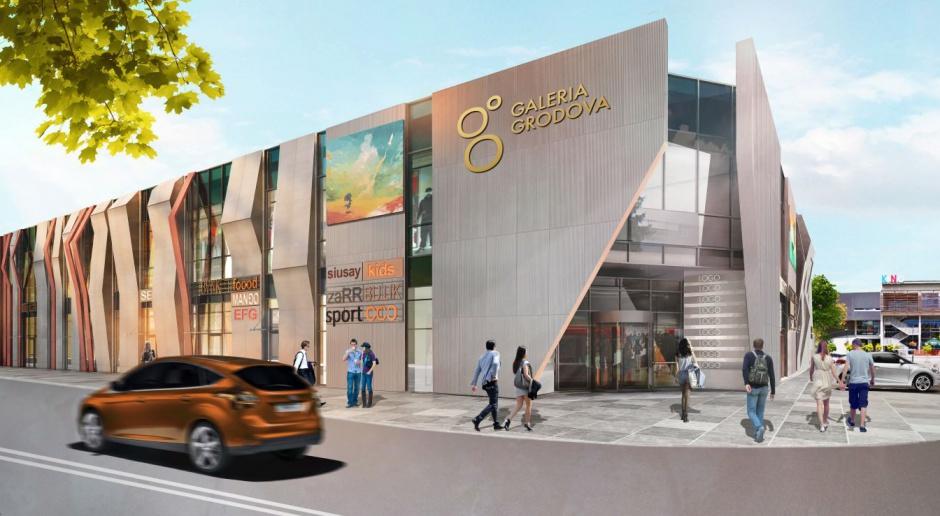 Galeria Grodova projektu Arkus, powstaje w Grodzisku Mazowieckim