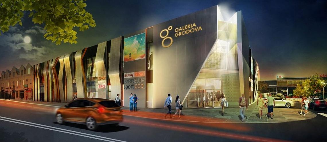 Galeria Grodova będzie gotowa do otwarcia w grudniu. Tak będzie wyglądała