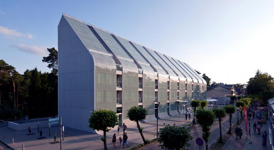 Szklane fale hotelu Baltic Palace - projekt Tańskiego i Michalewicza już gotowy