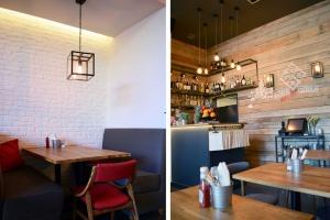 Boys Meat Girls - restauracja na warszawskim Ursynowie według projektu Lab Architekci