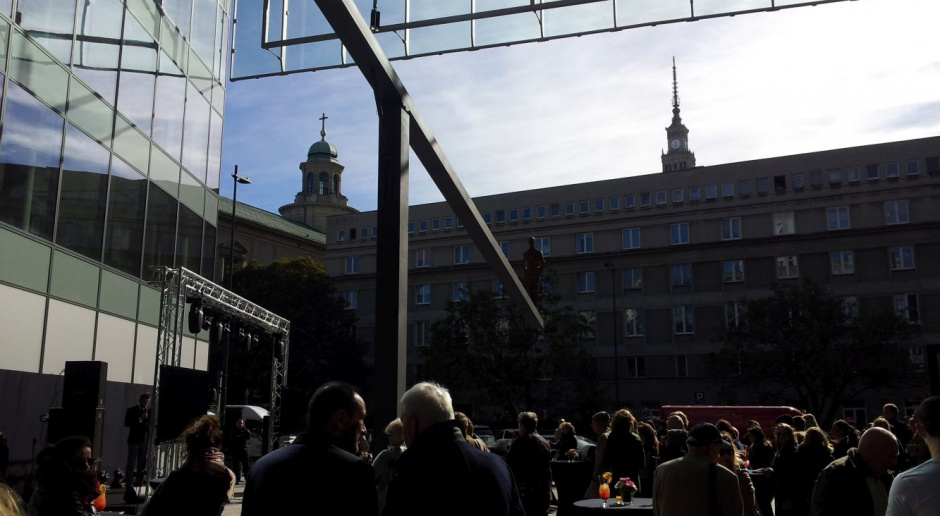 Zobacz zdjęcia z otwarcia nowej przestrzeni miejskiej w Warszawie