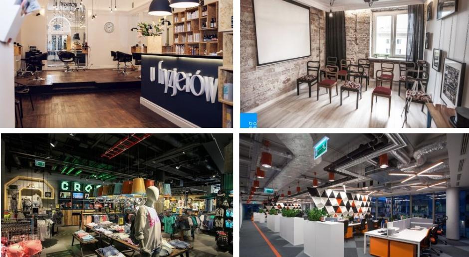 Restauracja, sklep i biuro stawiają na industrialny look