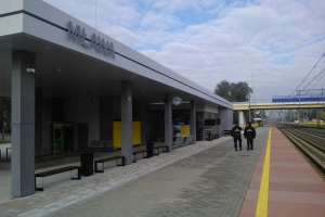 Ekologiczny i innowacyjny dworzec w Mławie