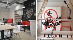 Zobacz designerskie biuro coworkingowe Centroom w Białymstoku