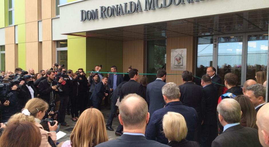 Pierwszy w Polsce Dom Fundacji Ronalda McDonalda