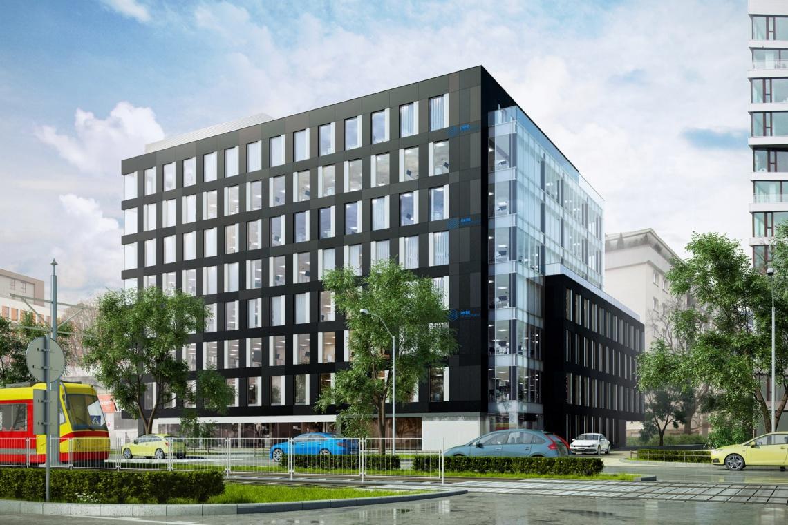 Grójecka Offices projektu Kuryłowicz & Associates z wykonawcą