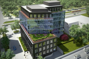 Co słychać na budowie Grójecka Offices? To projekt Kuryłowicz & Associates