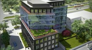 Co wyróżnia biurowiec Grójecka Offices? Po pierwsze architektura