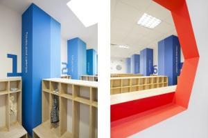 Przedszkole i żłobek MegaMocni: wnętrza, które inspirują