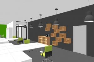 Kreatywne miejsce do wspólnej pracy od Studia Potorska