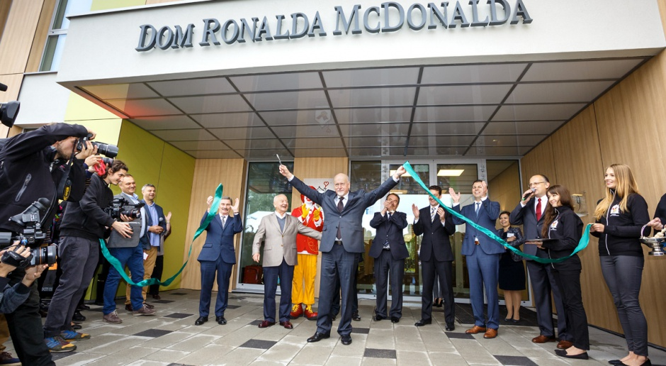 Fotorelacja: Pierwszy w Polsce Dom Fundacji Ronalda McDonalda