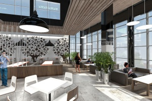 MAAS Projekt odmieni food court Galerii Jurajskiej