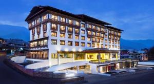 Bhutan to także miejsce dla hoteli