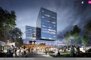 Poznaniacy wybrali projekt fasady dworca
