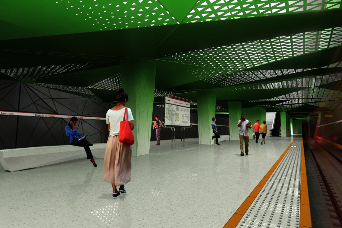 Metro na Wolę. Zielone światło dla budowy stacji metra Księcia Janusza