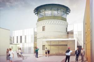Nowe życie wieży ciśnień w Busku-Zdroju