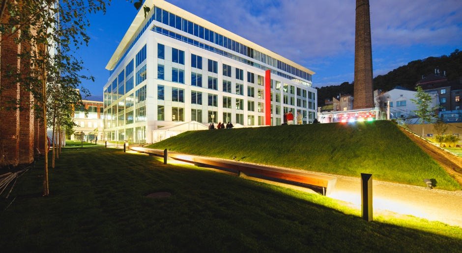 Biurowy koncept w stylu czeskiej Pragi