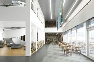 Ta biblioteka będzie miejscem do czytania i relaksu