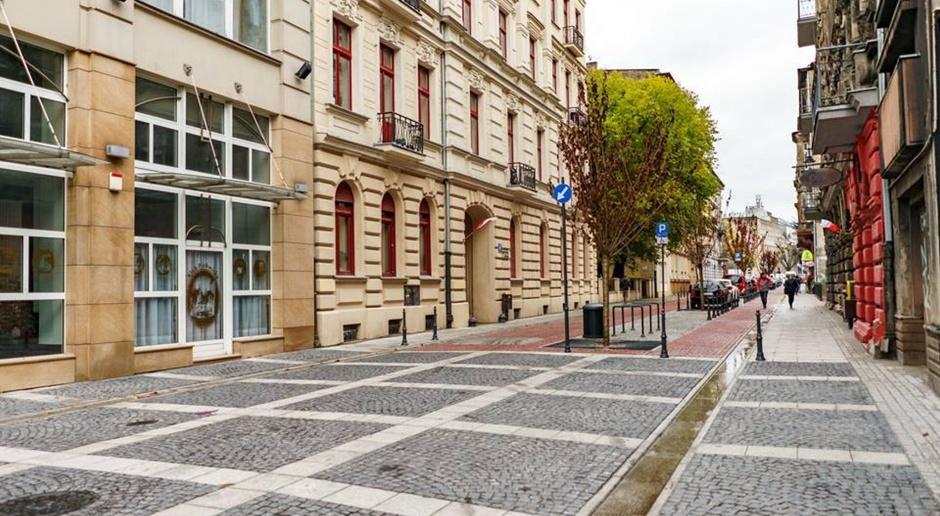 Otwarcie nowego woonerfu w Łodzi