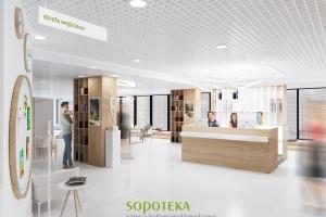 Tereny podworcowe w Sopocie zmieniły się w Sopotekę