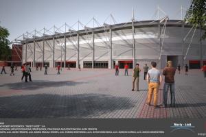 Najnowsze wieści z budowy stadionu Widzew Łódź