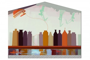 Zwycięski mural Gdańska jest pełen symboli tego miasta