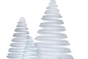 Nietypowa lampa Chrismy - w kształcie choinki