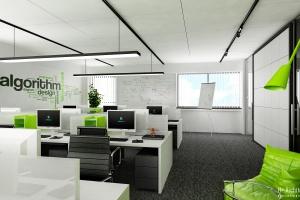 Zobacz biuro AxHelpers według projektu H+ Architektura