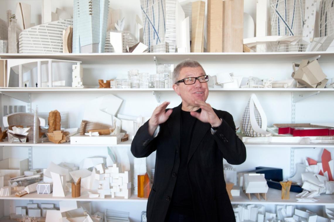 Daniel Libeskind: Złota 44 jak orzeł