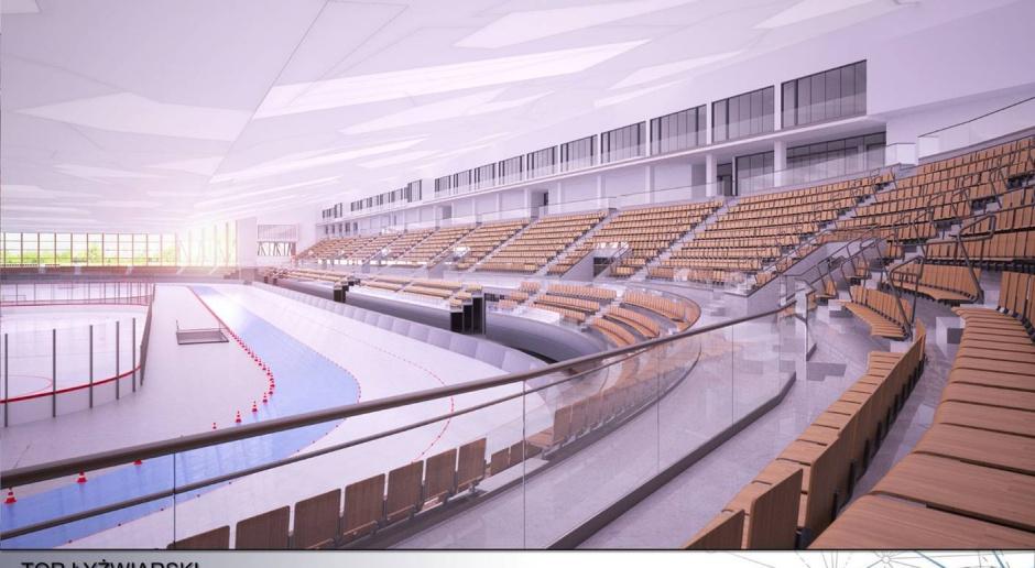 Nowy tor łyżwiarski Stegny z pozwoleniem na budowę
