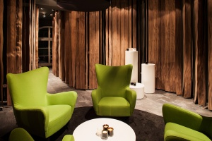 Showroom MessageCandles według projektu PL.architekci
