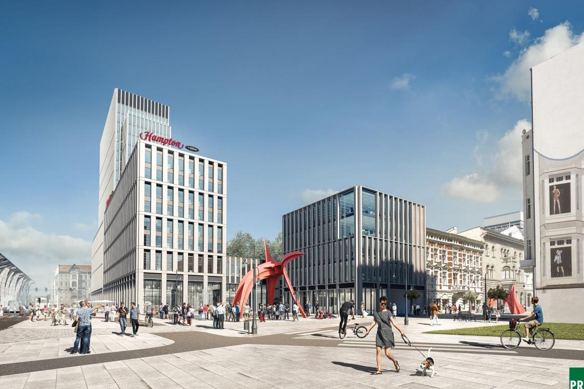 Igor Galas o projekcie Hampton by Hilton w Łodzi