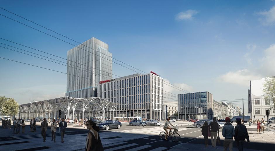 Ruszyła budowa Hampton by Hilton Łódź projektu PRC Architekci