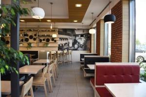 KFC stawia na nowy design restauracji