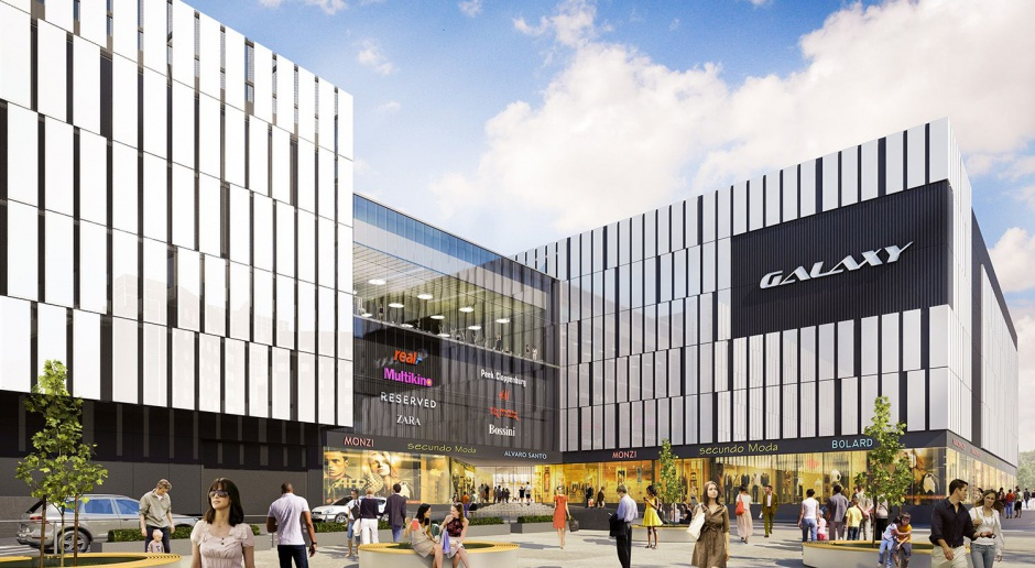 Nowe, eleganckie centrum Galaxy w Szczecinie od Open Architekci