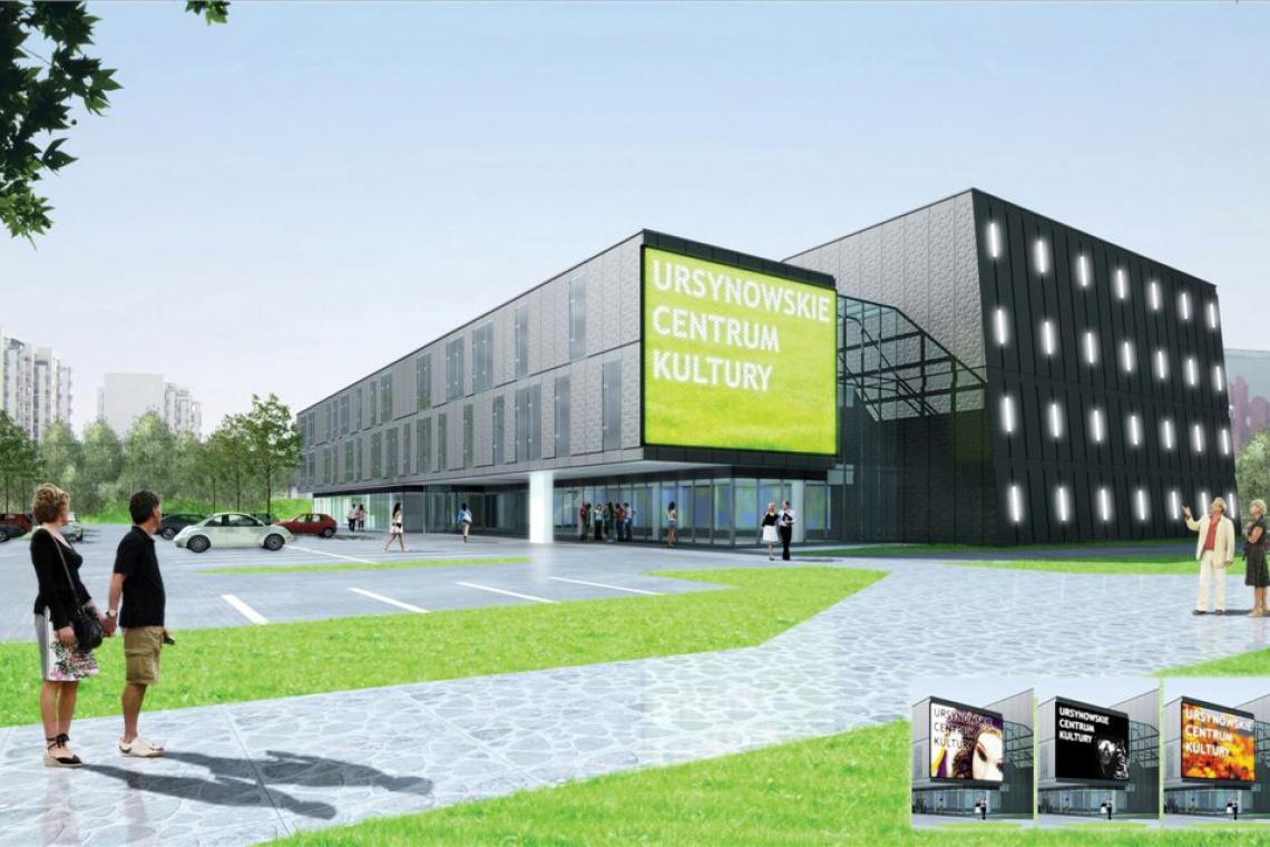 Dom kultury Ursynów zaprojektują BeMM Architekci