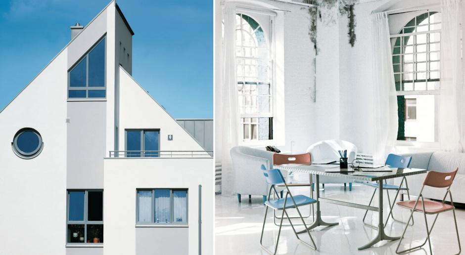 Oryginalna architektura okienna