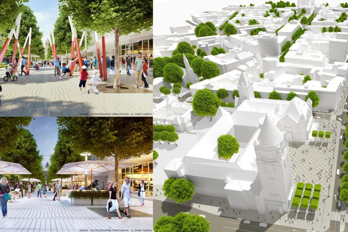 Zobacz jak może zmienić się centrum Poznania