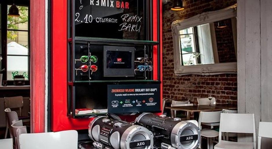 Innowacyjny koncept Ray-Ban Remix Bar