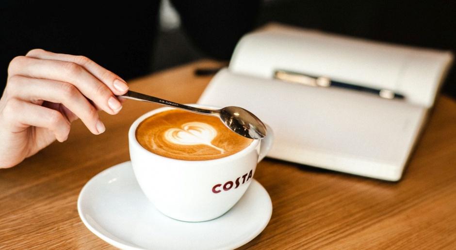 Costa Coffee w Mokotów Nova stawia na loftowy design