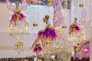 Świąteczne wróżki opanowały Tarasy Zamkowe