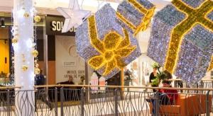 Nieszablonowa, świąteczna dekoracja w Galerii Bronowice