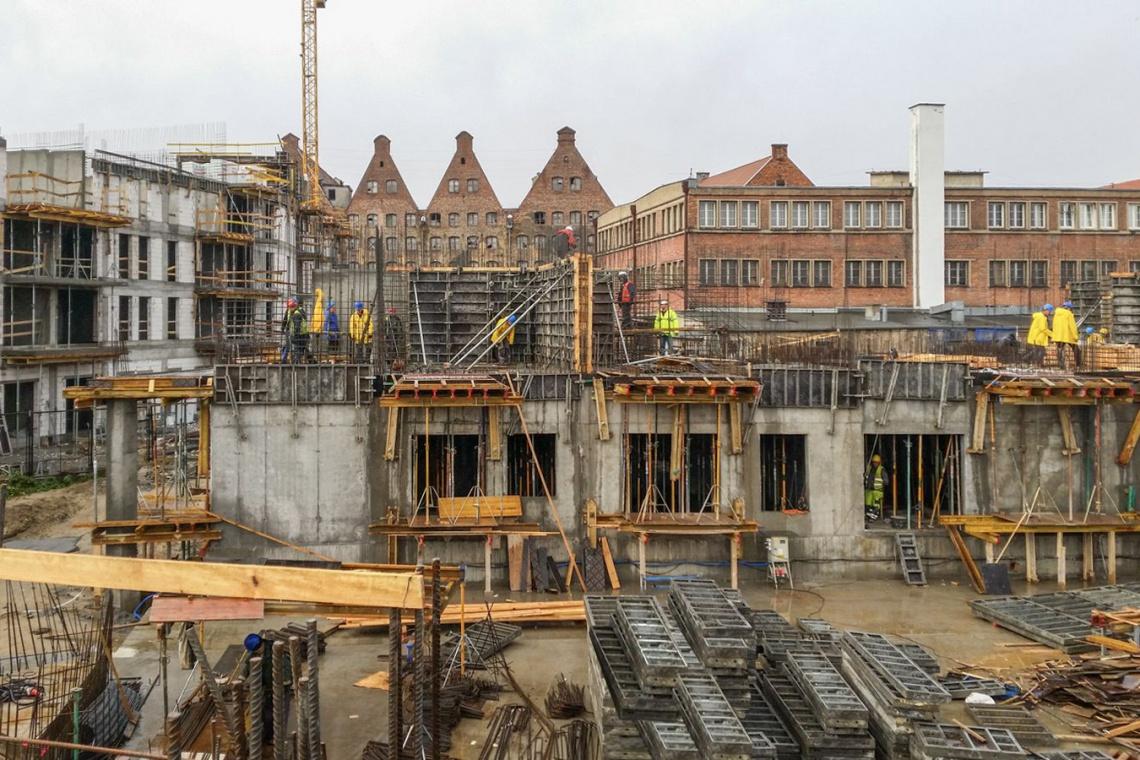 Nowa Motława rośnie według projektu KD Kozikowski Design