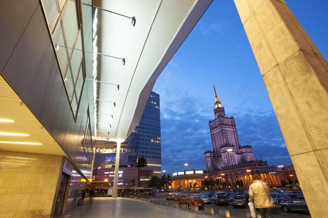 O architekturze Dworca Centralnego
