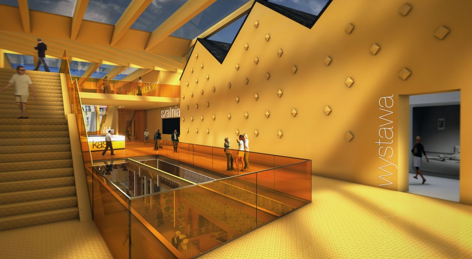 Trzy pracownie stworzyły koncepcję Galerii Arsenał